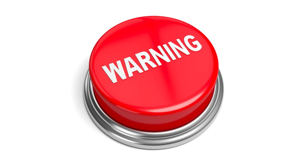 warning button